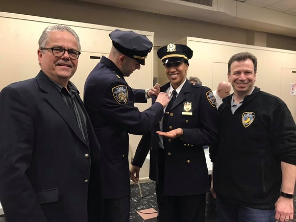Captain Victoria Perry is the new 104th Pct Commanding Officer