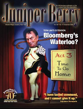 The Juniper Berry December 2008 Cover