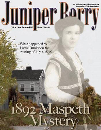 The Juniper Berry December 2007 Cover