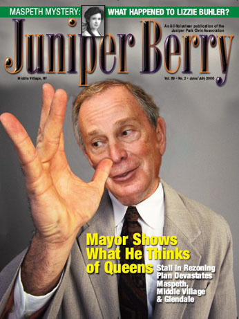 The Juniper Berry June 2008 Cover