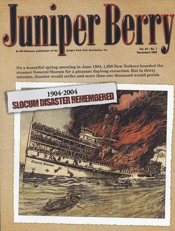 The Juniper Berry March 2004 Cover