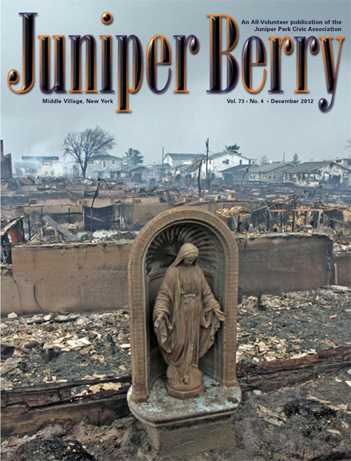 The Juniper Berry December 2012 Cover