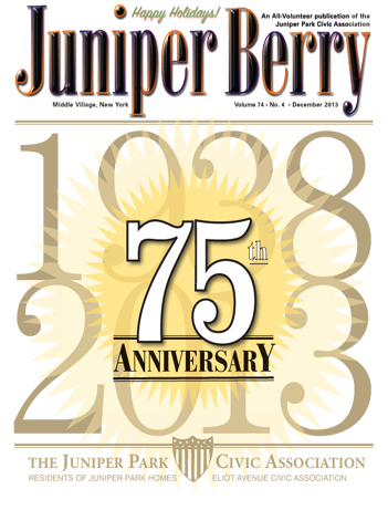 The Juniper Berry December 2013 Cover
