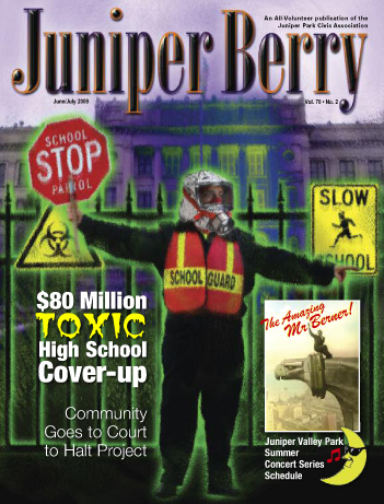 The Juniper Berry June 2009 Cover