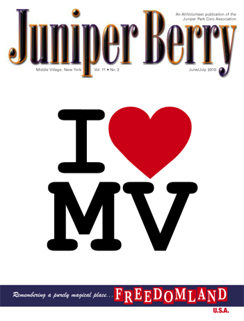 The Juniper Berry June 2010 Cover
