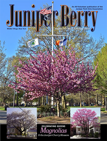 The Juniper Berry June 2014 Cover