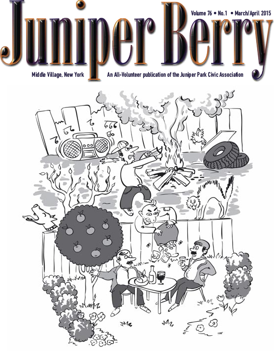 The Juniper Berry March 2015 Cover