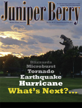 The Juniper Berry September 2011 Cover