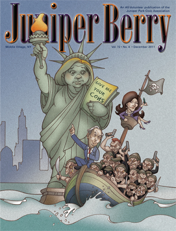 The Juniper Berry December 2011 Cover