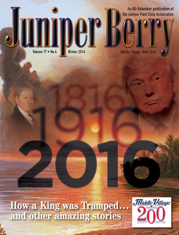 The Juniper Berry December 2016 Cover