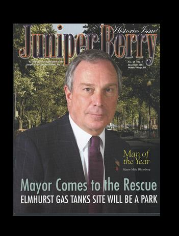 The Juniper Berry December 2003 Cover