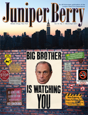 The Juniper Berry March 2011 Cover