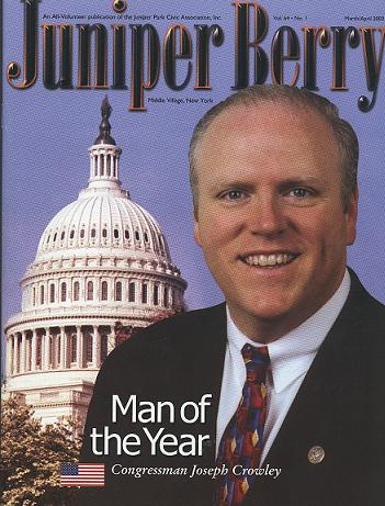 The Juniper Berry March 2003 Cover