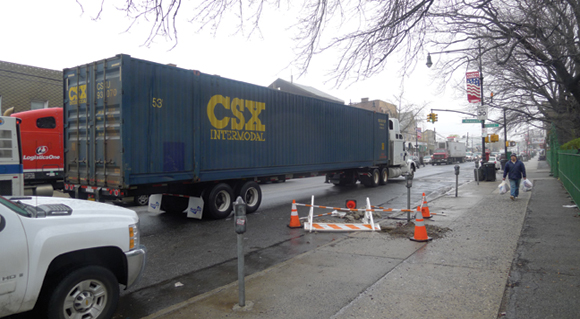 Why are Illegal Big Trucks Operating in NYC?