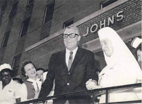 Cary Grant released from St. John's Hospital