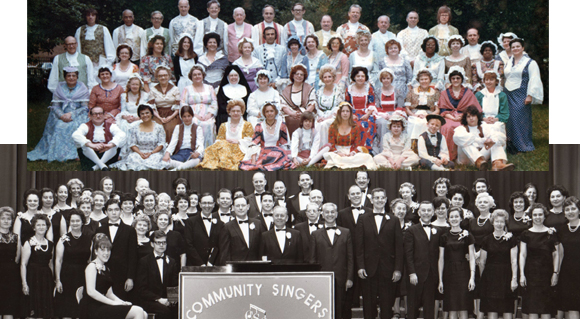 A look back at the  Community Singers of Queens