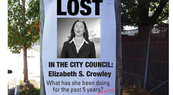 Elizabeth Crowley: Lost in the City Council