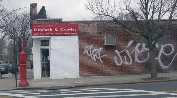 BERRY BITS: Crowley sets bad example by allowing graffiti to linger