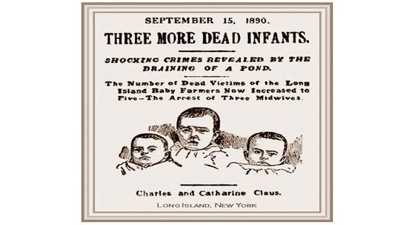 AMAZING STORIES: THREE MORE DEAD INFANTS