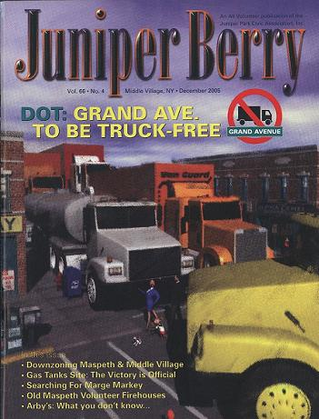 The Juniper Berry December 2005 Cover