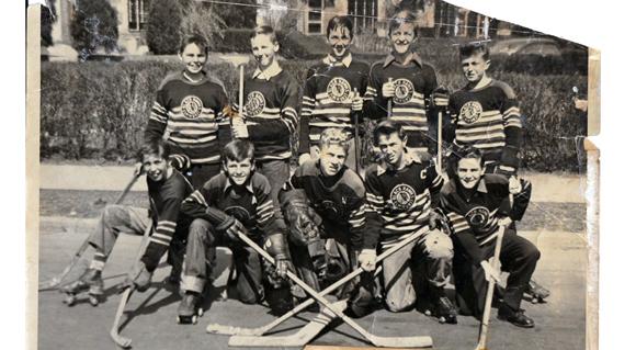 Neighborhood History: Hockey on Caldwell Ave.