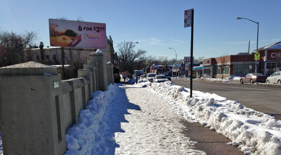 BERRY BITS: City fails to clean snow off its own property