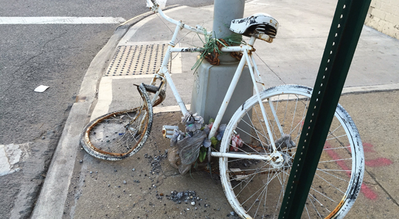 THINGS THAT ARE DUMB: Abandoned Ghost Bikes an eyesore