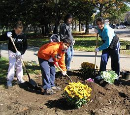 JPCA & Juniper Juniors Participate in It's My Park Day