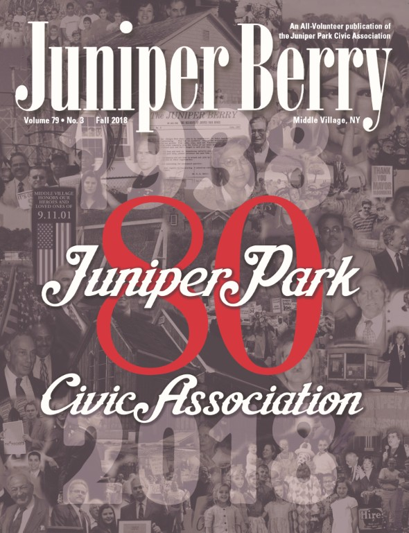 The Juniper Berry September 2018 Cover