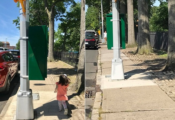 BERRY BITS: 79th Street Stoplight Installed