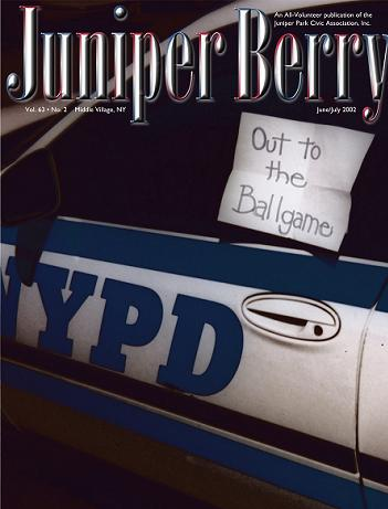 The Juniper Berry June 2002 Cover
