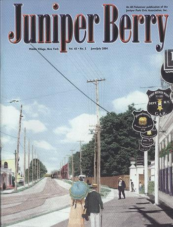 The Juniper Berry June 2004 Cover