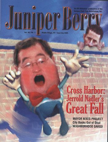 The Juniper Berry June 2005 Cover