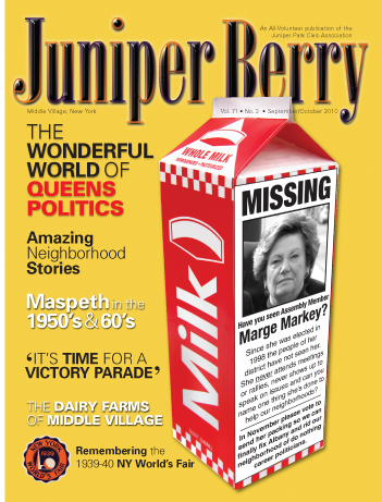 The Juniper Berry September 2010 Cover