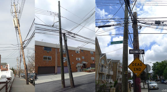 Our overburdened and ugly Utility Poles