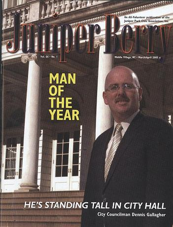 The Juniper Berry March 2005 Cover