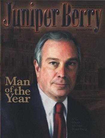 The Juniper Berry March 2006 Cover