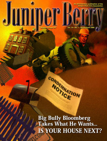 The Juniper Berry March 2009 Cover