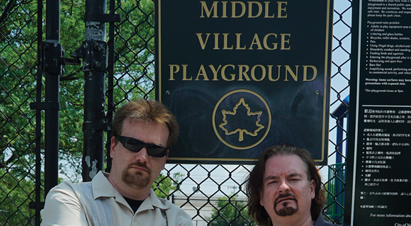 BERRY BITS: Middle Village Movie  DVD signing