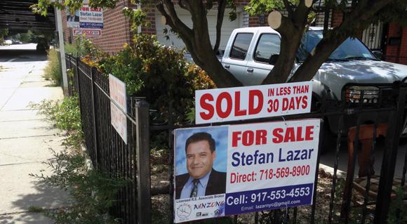Real Estate Broker ad blitz