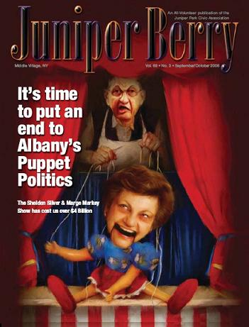The Juniper Berry September 2008 Cover