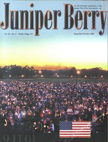 The Juniper Berry September 2002 Cover