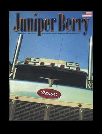 The Juniper Berry September 2003 Cover