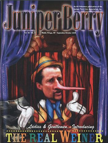 The Juniper Berry September 2005 Cover