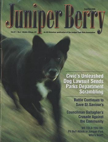 The Juniper Berry September 2006 Cover
