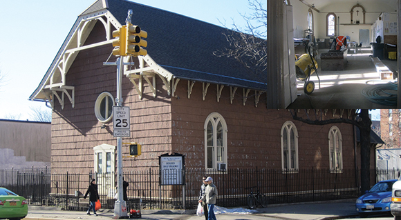 THINGS THAT ARE DUMB: 18th century historic church used as construction staging area