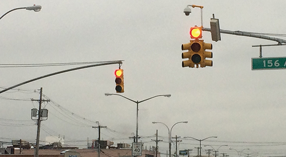 BERRY BIT: New traffic signals installed along Woodhaven Blvd