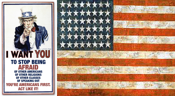 You're Americans First. Act like it!