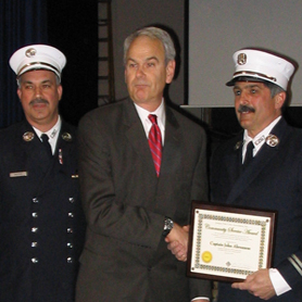Two Firefighters Chosen for 2007 JPCA Community Service Awards