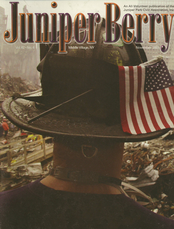 The Juniper Berry November 2001 Cover